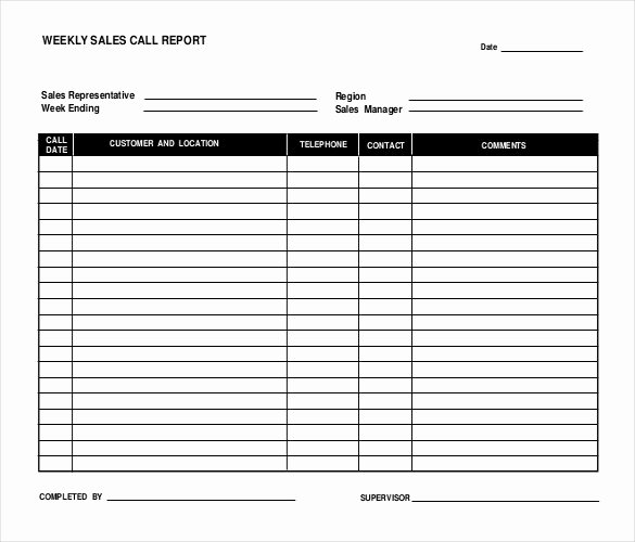 Weekly Sales Report Template Best Of 12 Sales Report Templates Docs Pages Pdf Word