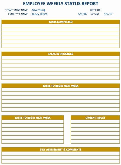 Weekly Sales Report Template Excel New Free Weekly Schedule Templates for Excel Smartsheet