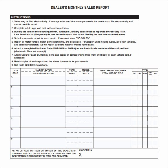Weekly Sales Report Template Excel Unique Monthly Sales Report Spreadsheet Vatansun