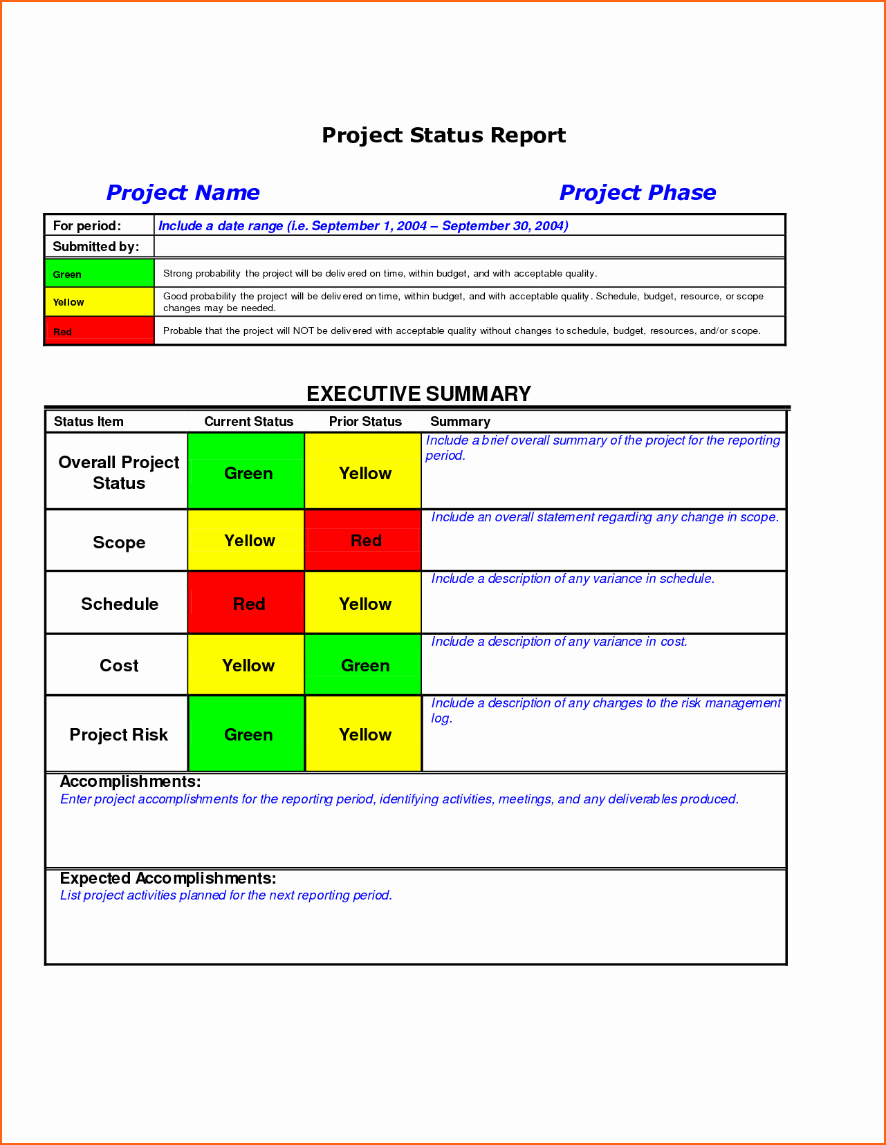 Weekly Status Report Template Excel New Weekly Status Report Template Excel Free Download