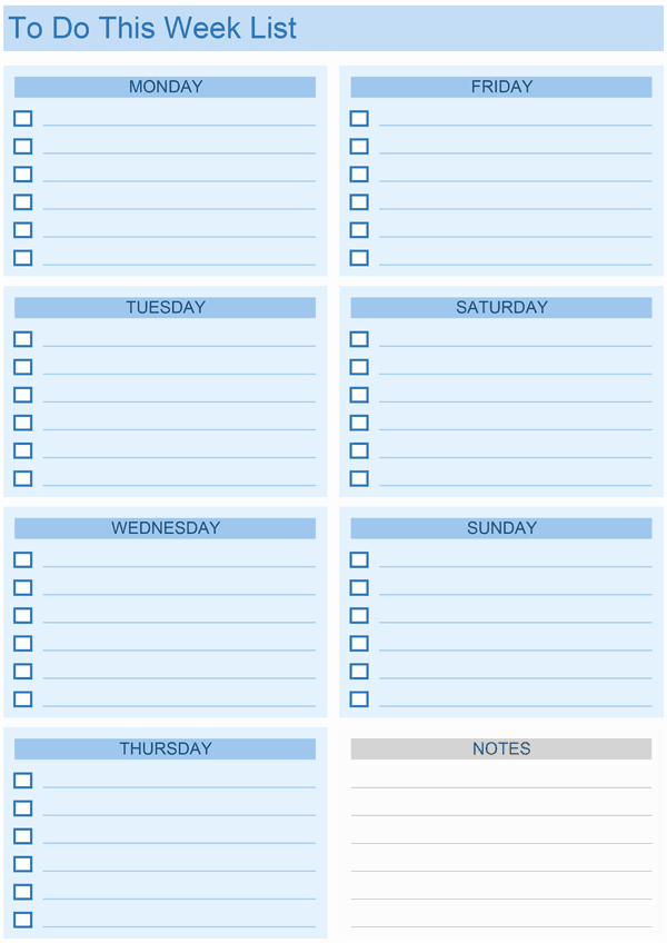 Weekly Task List Template Excel Elegant Daily to Do List Templates for Excel