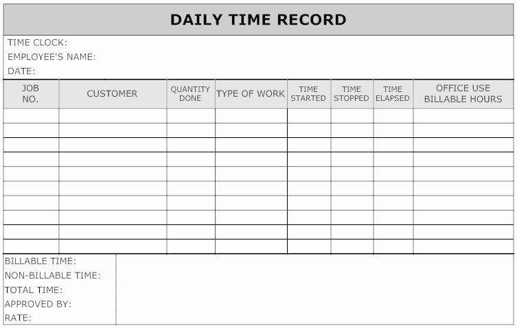 Weekly Time Card Template Lovely Telling Time Power Plant Man Style