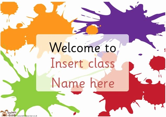 Welcome Sign Template Free Awesome Teacher S Pet Editable Classroom Wel E Posters Free