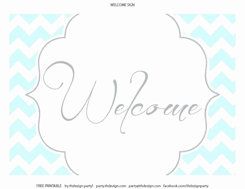 Welcome Sign Template Free Beautiful Wel E Sign Template