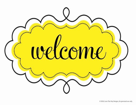 Welcome Sign Template Free Fresh 33 Best Wel E Images On Pinterest