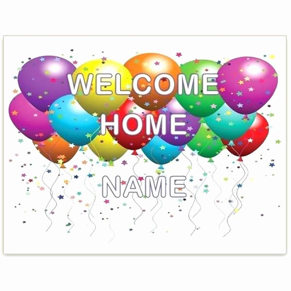Welcome Sign Template Free Lovely Wel E Back Printable Cards Hamayeshfo