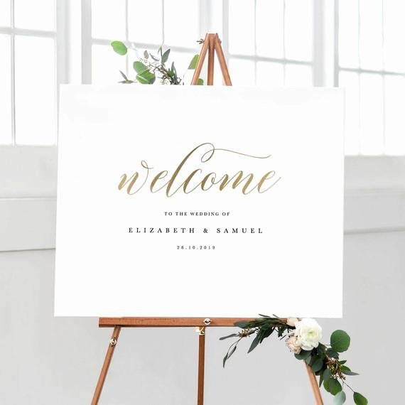 Welcome Sign Template Free New Wel E to Our Wedding Sign Template Printable Wel E Sign