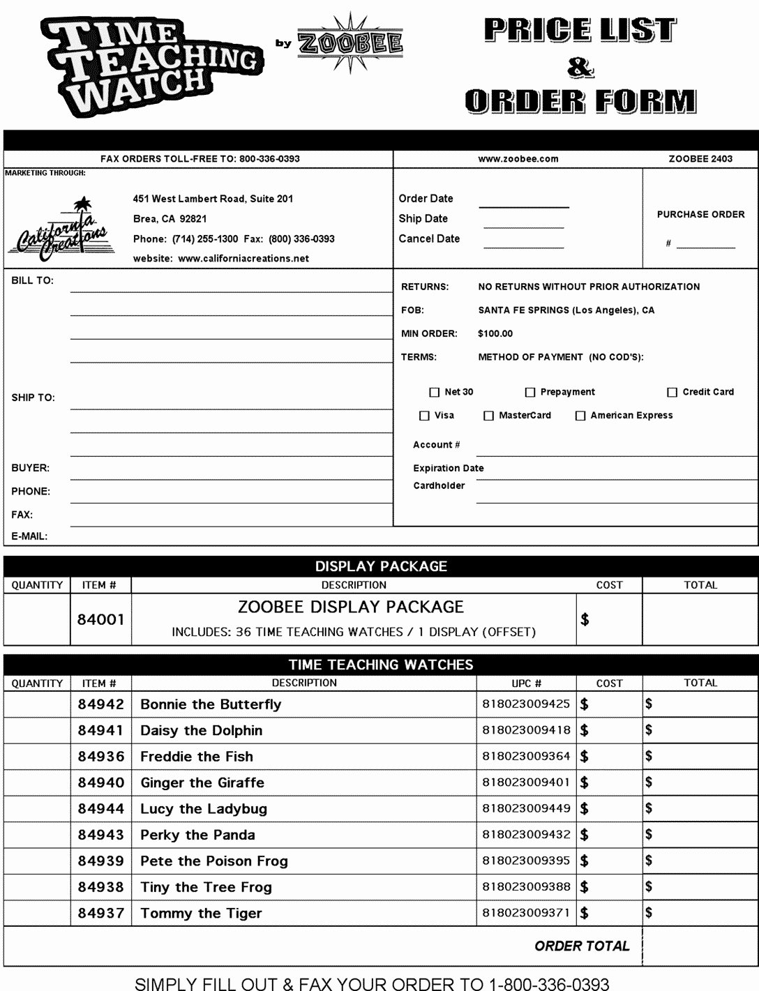 Wholesale order form Template Luxury Downloads wholesale order form Template – Radiofama