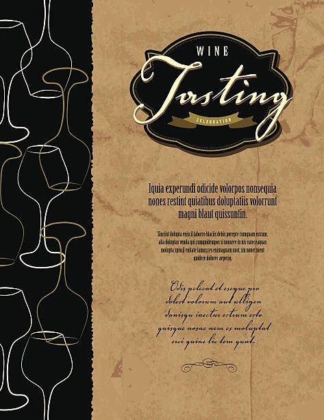Wine Tasting Menu Template Beautiful top Wine Tasting Clip Art Vector Graphics and