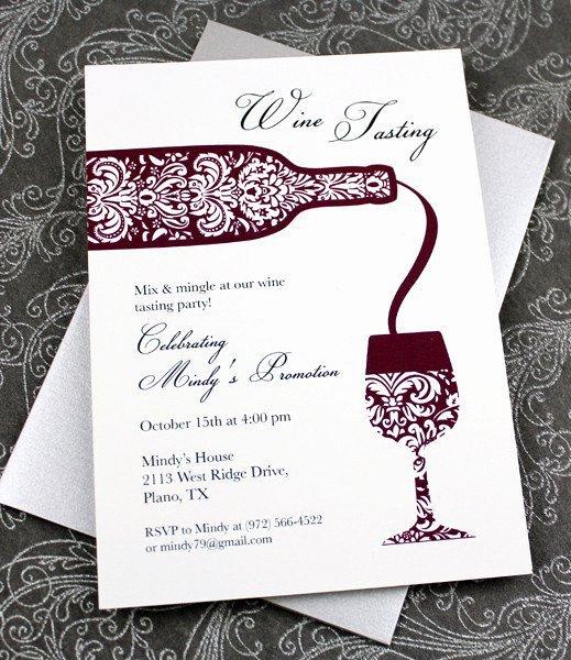 Wine Tasting Menu Template Beautiful Wine Tasting Invitation Templates