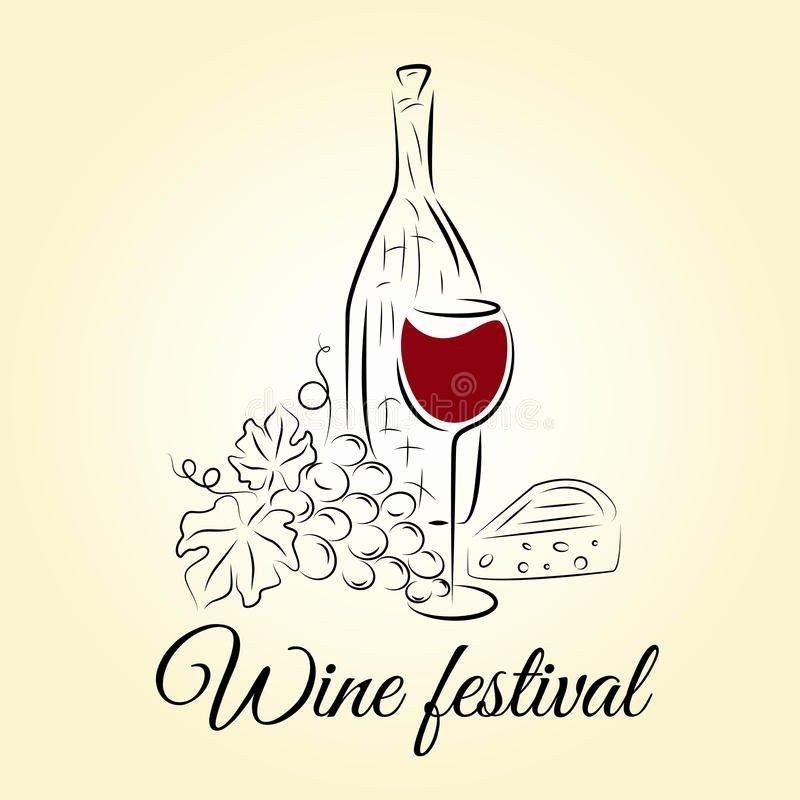 Wine Tasting Menu Template Elegant Wine Bottle Wine Glass Grape and Cheese Wine Festival