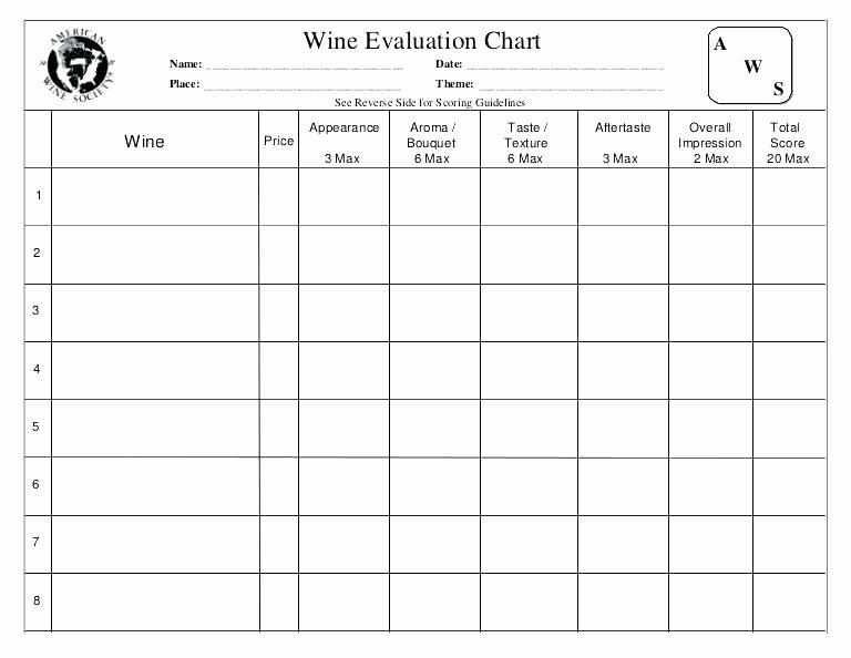 Wine Tasting Menu Template Fresh Bourbon Tasting Mats Flavor Wheel Notes Template Champagne