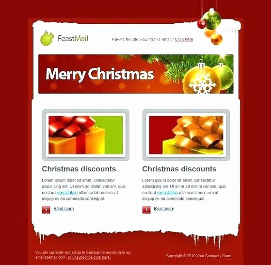 Winter Newsletter Template Free Awesome Christmas Newsletter Template Pages Newspaper Template