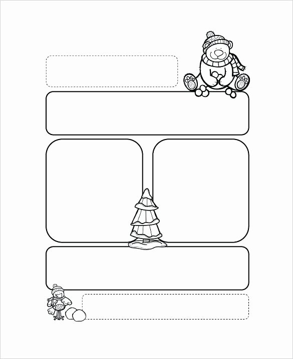 Winter Newsletter Template Free Awesome Newsletters Templates for Teachers Good Printable
