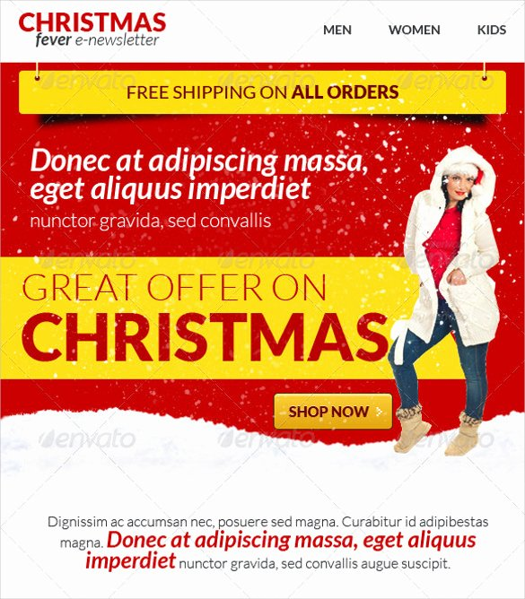 Winter Newsletter Template Free Beautiful Holiday Newsletter Template 16 Free Jpg Psd Pdf