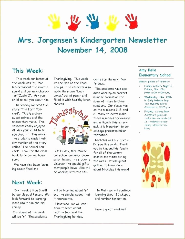 Winter Newsletter Template Free Unique Sports Newsletter Template Free Printed Newsletter