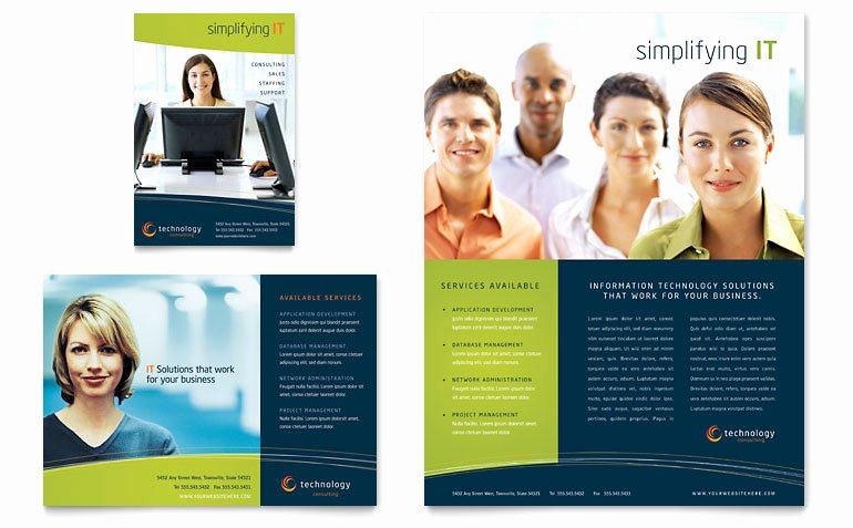 Word Brochure Template Free Beautiful Free Flyer Template Download Word & Publisher Templates