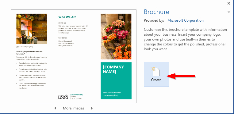Word Doc Brochure Template Awesome How to Create Brochures Pamphlets and Flyers Using Word