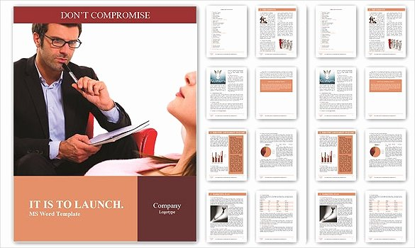 Word Doc Brochure Template Beautiful Brochure Template Word 41 Free Word Documents Download