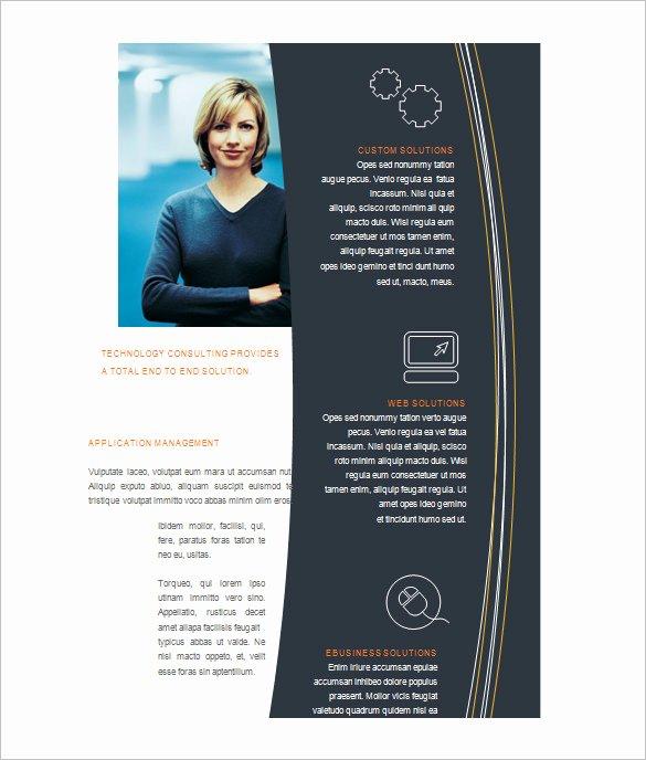 Word Doc Brochure Template Best Of Microsoft Brochure Template 49 Free Word Pdf Ppt