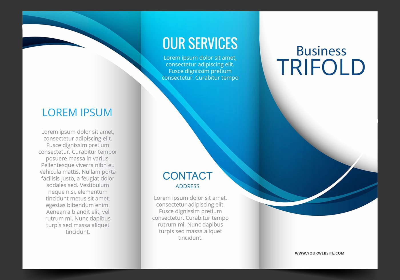 Word Doc Brochure Template Elegant 40 Free Word Brochure Templates Pdf Publisher