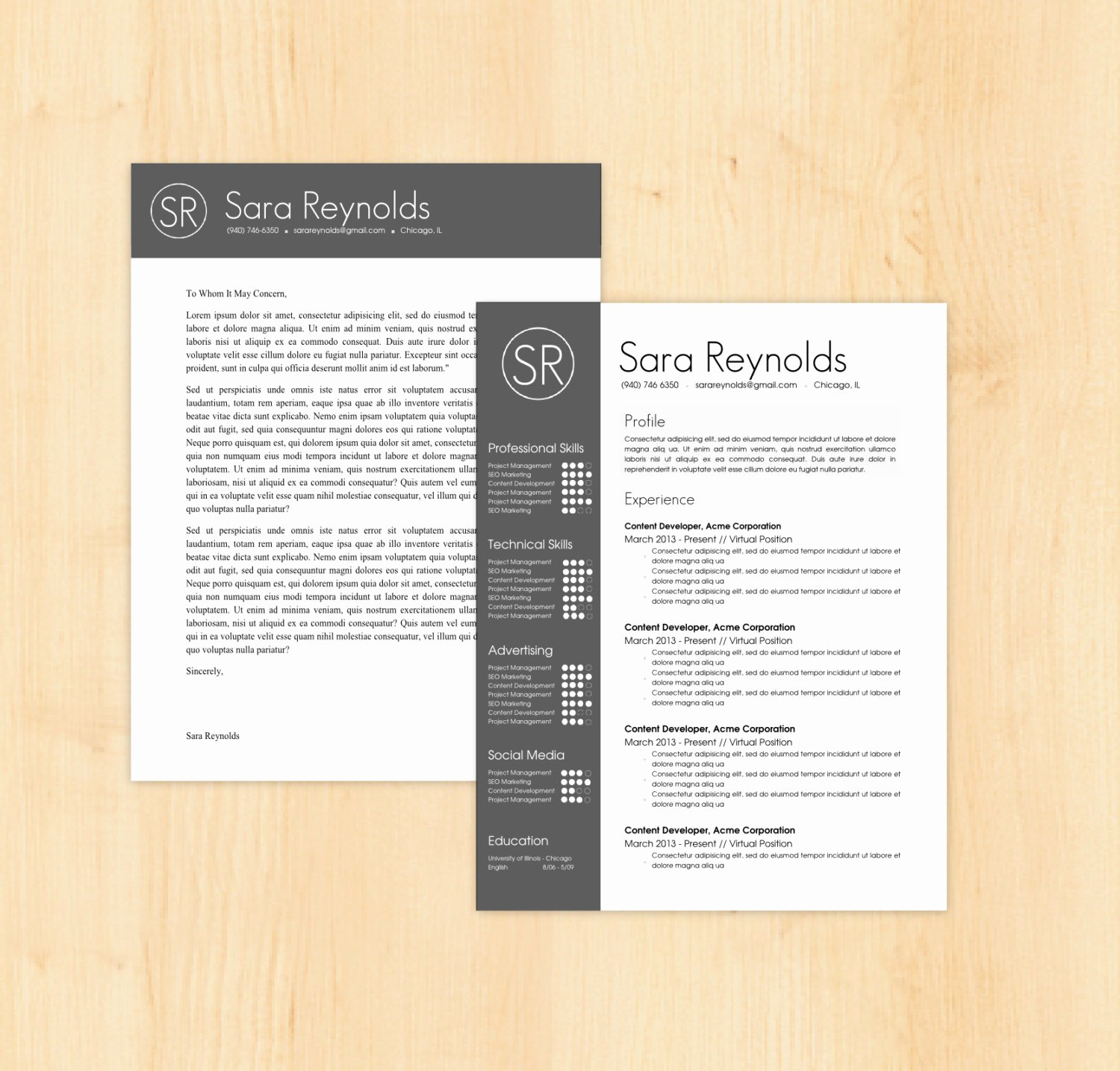 Word Doc Cover Letter Template Inspirational Resume Template Cover Letter Template the Sara by Phdpress
