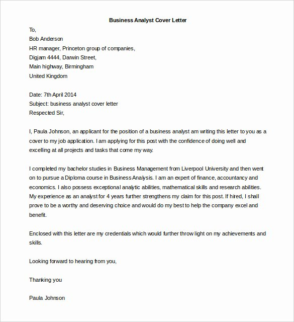 Word Doc Cover Letter Template Lovely 50 Business Letter Templates Pdf Doc