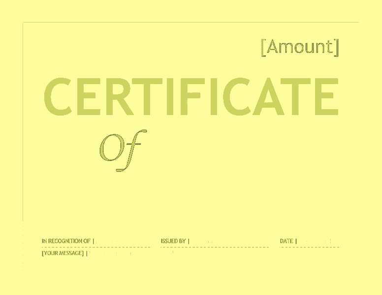 Word Template Gift Certificate Elegant Gift Certificate Template Word 2016 Free Certificate