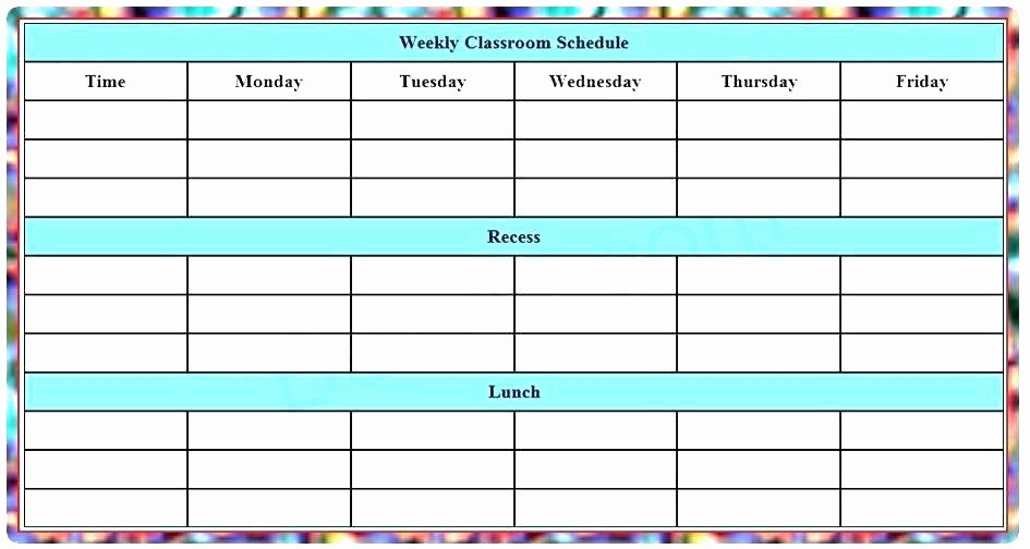 Work Cleaning Schedule Template Beautiful Printable Work Schedule Template – Whatapps