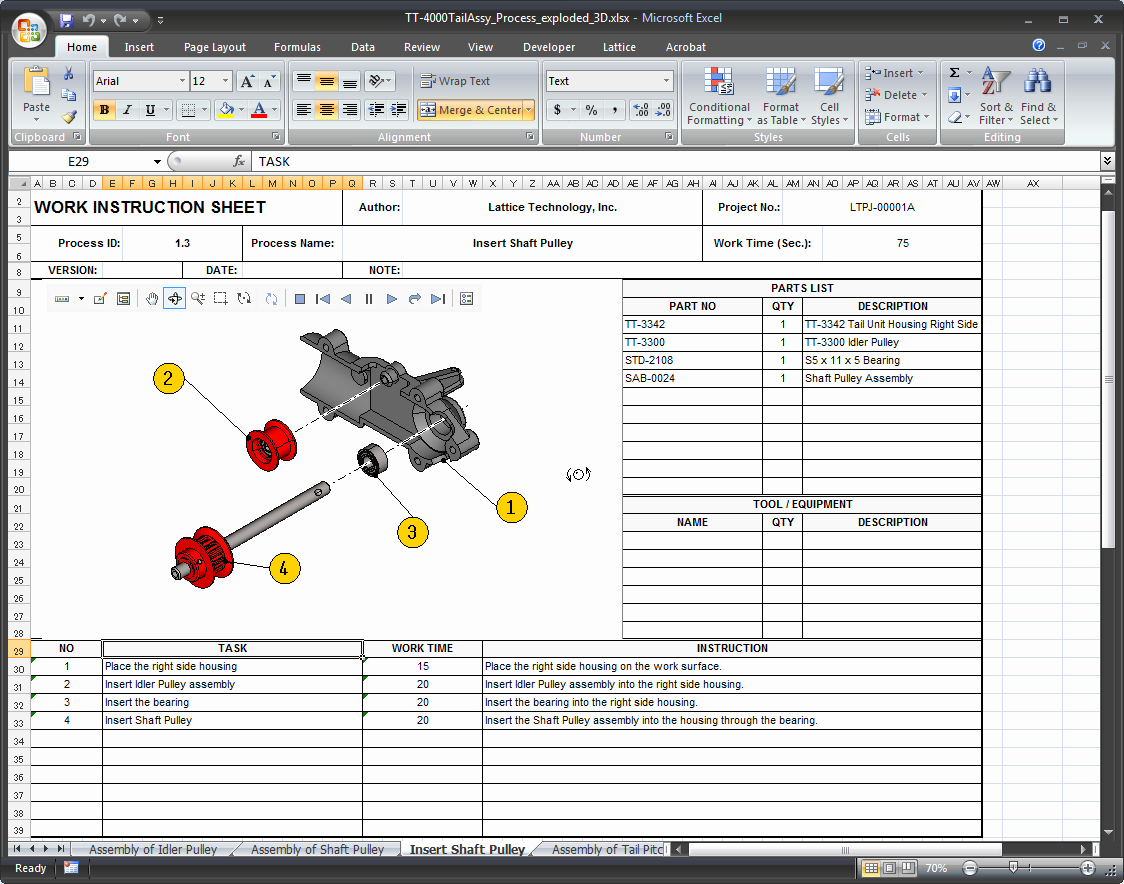 Work Instruction Template Excel Beautiful 14 Of Information Technology Work Instruction