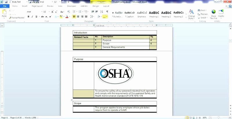 Work Instruction Template Excel Best Of Unique Work Instructions Template Template Free Work