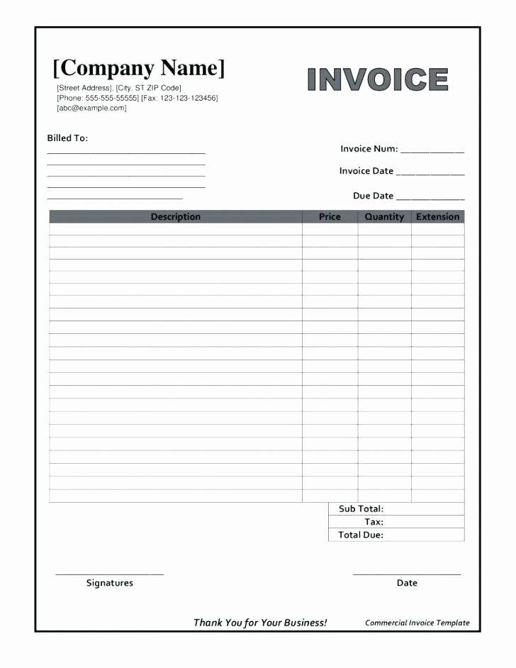 Work orders Template Free Inspirational 96 Work order Invoice Template Free Work order Sample