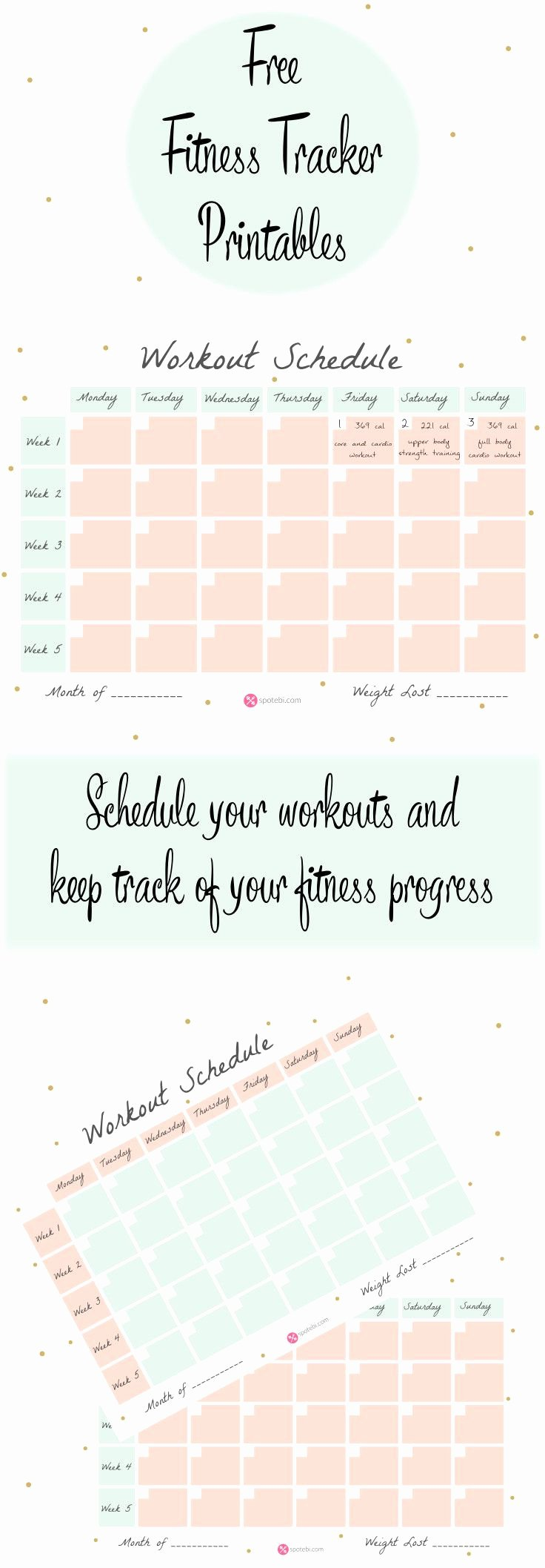 Work Out Schedule Template Awesome Workout Schedule Template