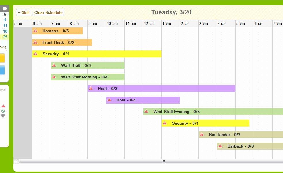 Work Schedule Calendar Template Inspirational 5 Daily Work Schedule Templates Excel Excel Xlts