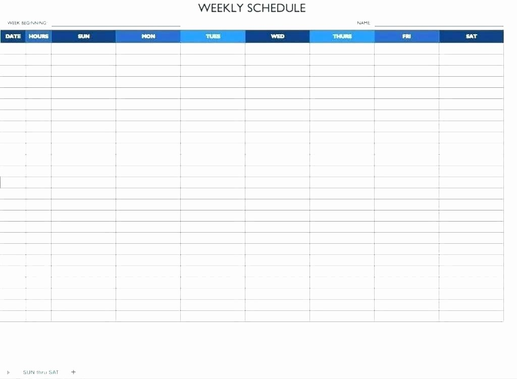 Work Schedule Template Excel New Excel Employee Schedule Monthly Staff Template Work