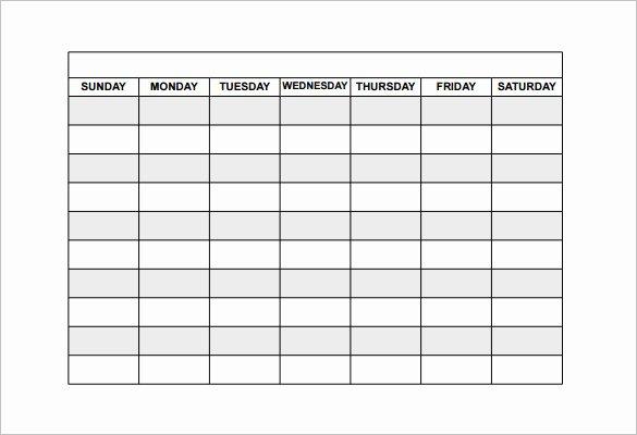 Work Schedule Template Free Best Of Employee Shift Schedule Template 12 Free Word Excel
