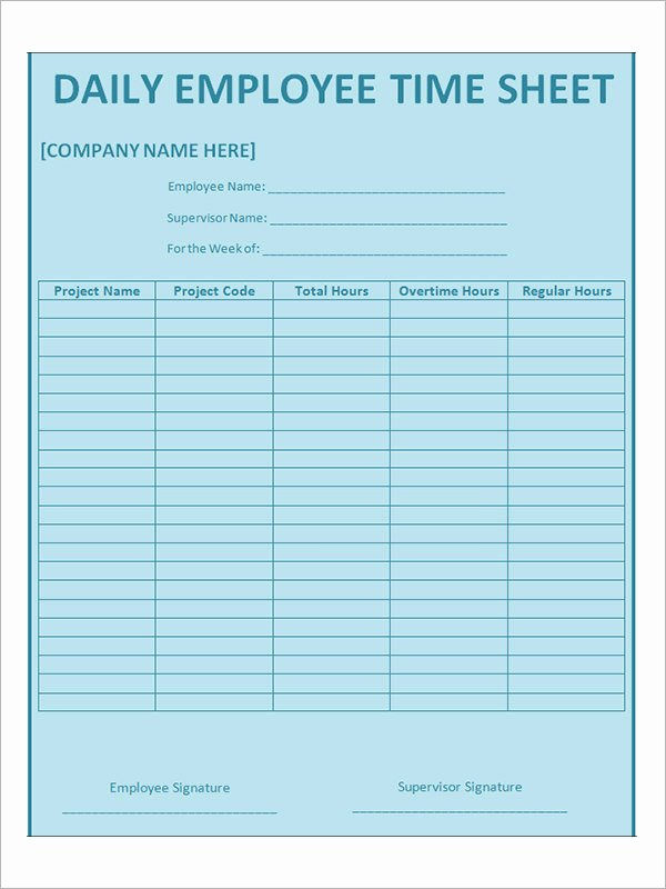 Work Time Sheet Template Luxury 17 Timesheet Calculator Templates to Download for Free