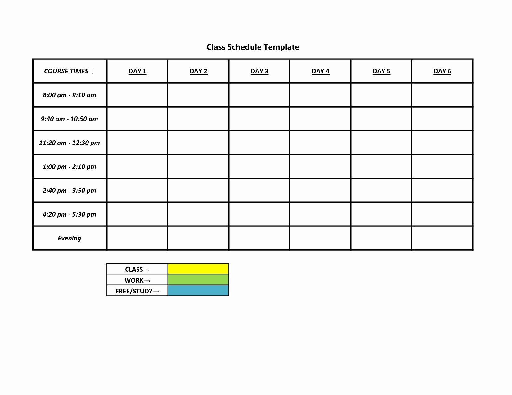 Work Week Schedule Template Lovely Printable Work Week Calendar Template – Calendar Printable