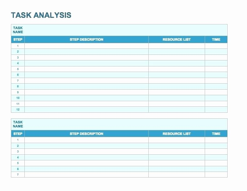 Workload Analysis Excel Template Fresh Employee Workload Analysis Template Excel – Deepwatersfo