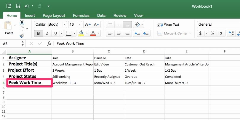 Workload Analysis Excel Template New Workload Management Template In Excel Priority Matrix