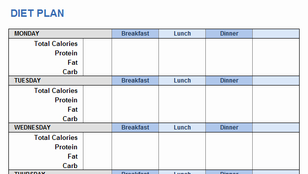 Workout Plan Template Excel Awesome Weight Training Plan Template for Excel