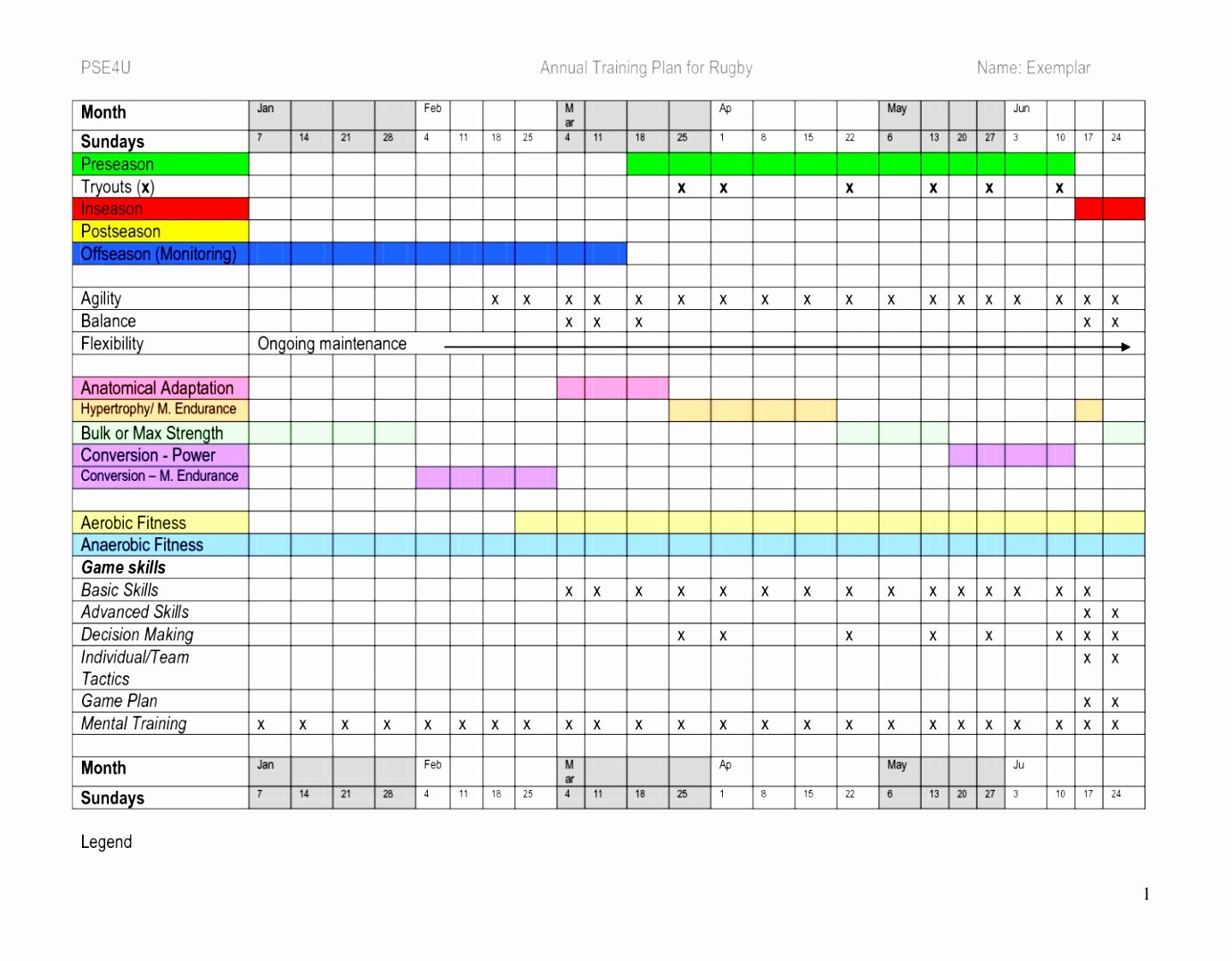 Workout Schedule Template Excel Elegant 5 Workout Schedule Template Excel Ooowt