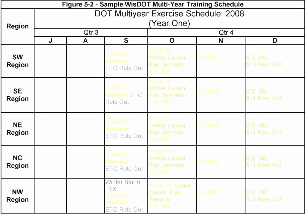 Workout Schedule Template Excel Lovely Army Training Schedule Template Plan Sample – asctech