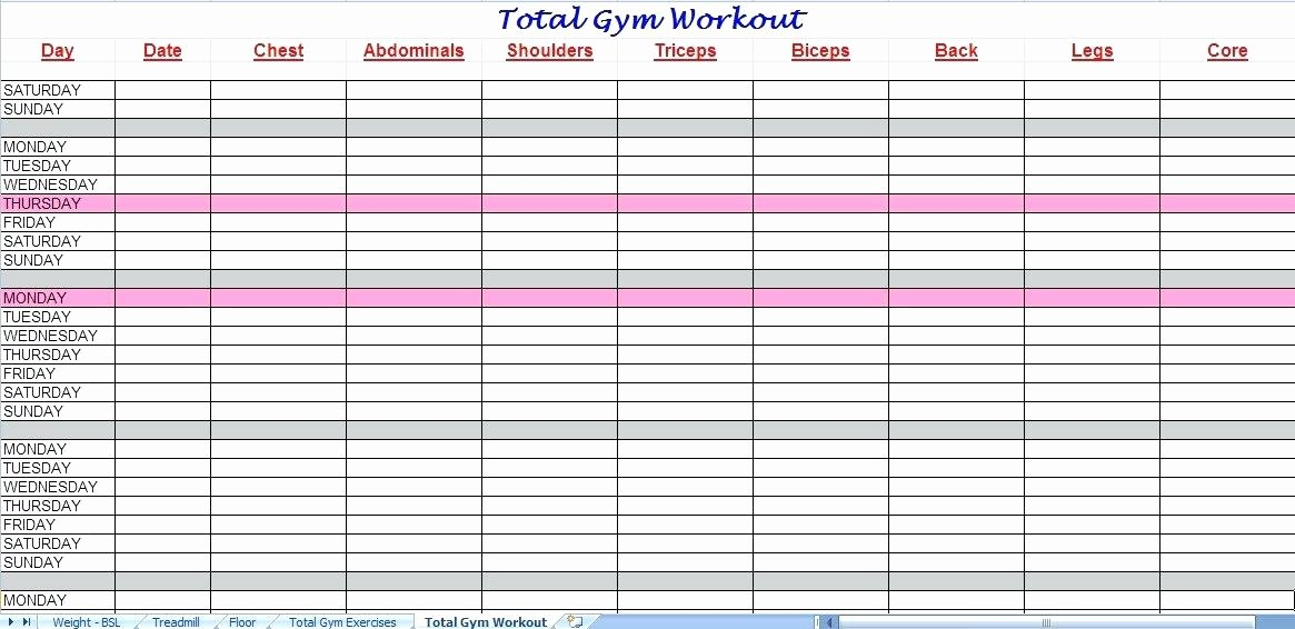 Workout Spreadsheet Excel Template Beautiful Workout Tracking Spreadsheet Template X Sheets – Picks