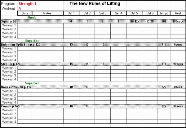 Workout Spreadsheet Excel Template New Marykaa S Fitness Log 14