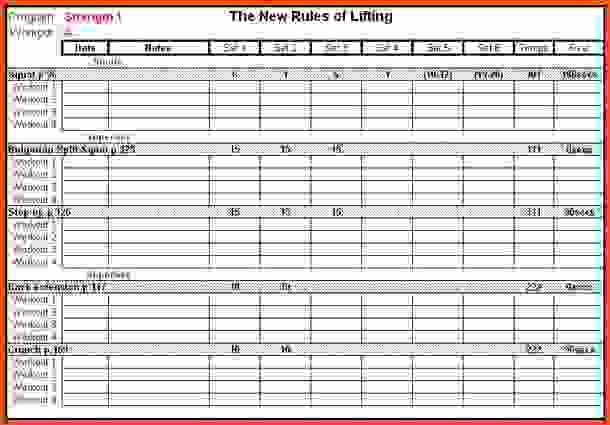 Workout Spreadsheet Excel Template Unique Password Log Template Pdf