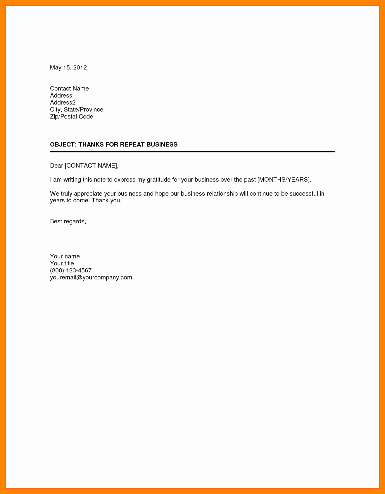Writing A Business Letter Template Beautiful Business Letter format