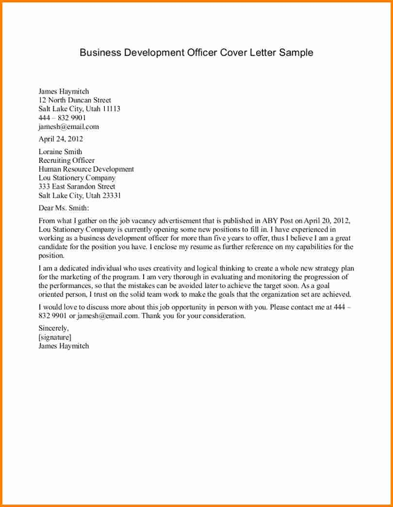 Writing A Business Letter Template New 10 formal Business Letter format Samples & Example