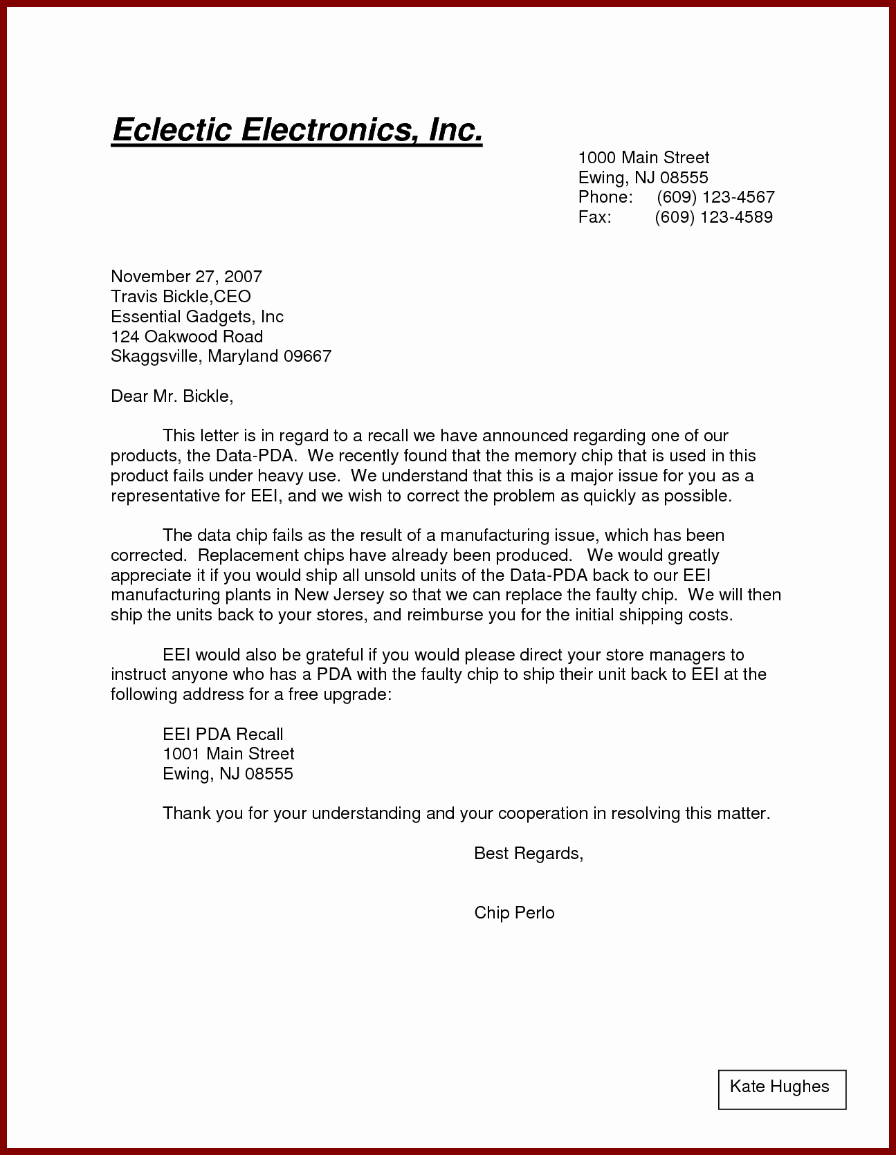 Writing A Business Letter Template New formal Letter Example Pdf