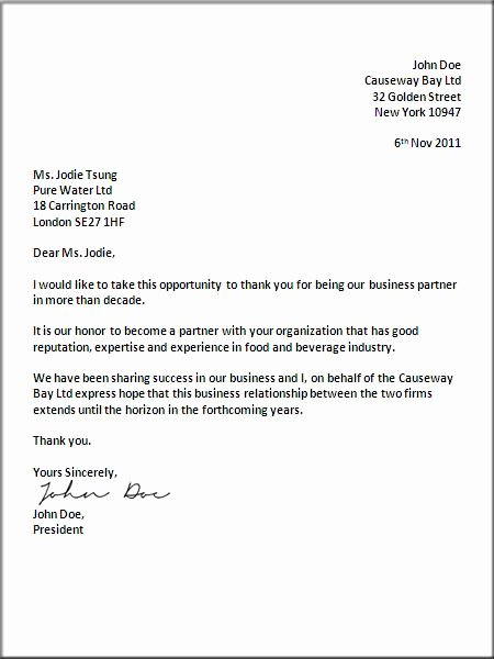 Writing A Business Letter Template New Uk Business Letter format Letter Pinterest